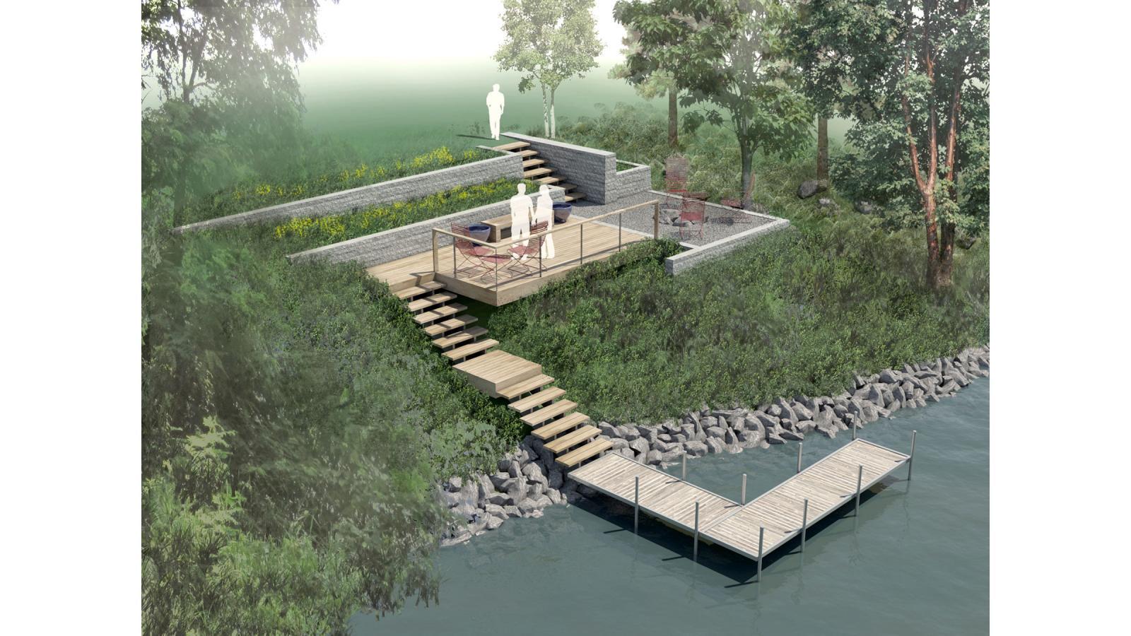 Work   Residential Landcape and Shoreline Design   Leif Peterson ...